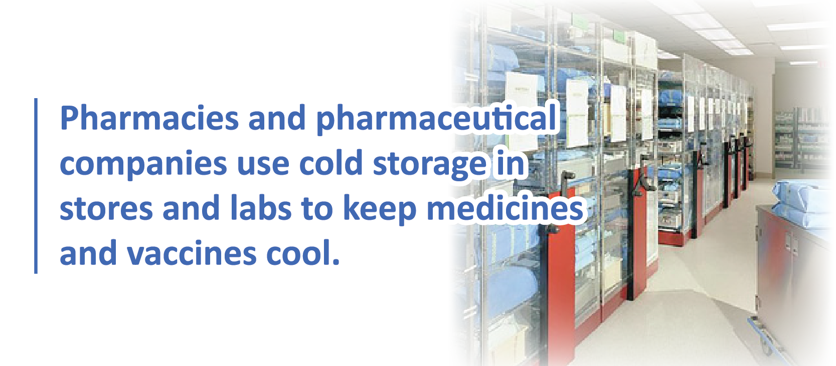 Information on Medical Facilities and Cold Storage